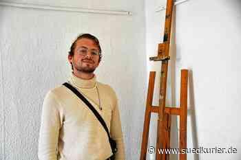Meersburg/Ostrach: Ein junger Ostracher erzählt, was er sich vom Kunststudium in Meersburg erhofft - SÜDKURIER Online