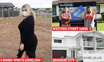 Young woman with $2million property portfolio reveals extreme lengths she took to buy three homes