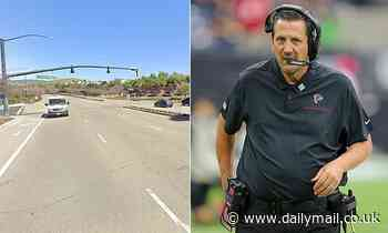 Driver, 22, who veered into bike lane and hit NFL coach Greg Knapp will not be charged in his death