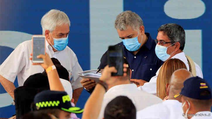 Piñera renovó apoyo a la paz de Colombia e impulsó la Alianza del Pacífico