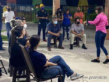 Candidata Tahiry Mérida visitó urbanismos de las parroquias Cabudare y José Gregorio Bastidas - Noticias de Barquisimeto - PromarTV - PromarTV