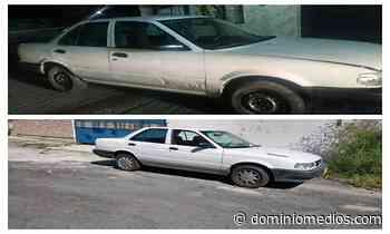 Encuentran 2 vehículos con reporte de robo en Guadalupe - Dominio Medios