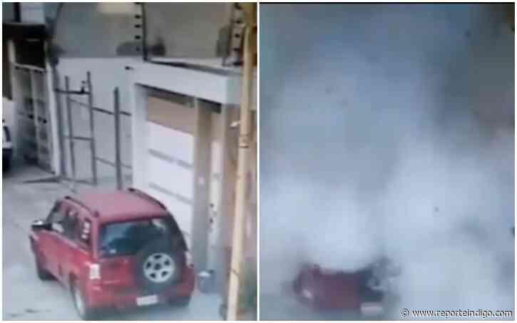 Otro atentado con explosivo: estalla caja en fraccionamiento Real de Guadalupe, Puebla - Reporte Indigo