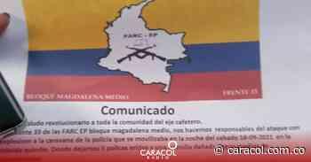 Autoridades desvirtúan información de FARC en panfleto en La Tebaida - Caracol Radio