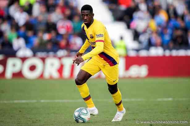 Man City challenges Man U for Dembele