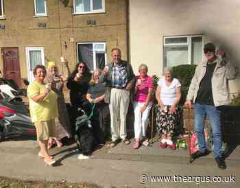 Residents celebrate removal of Old Shoreham Road cycle lane