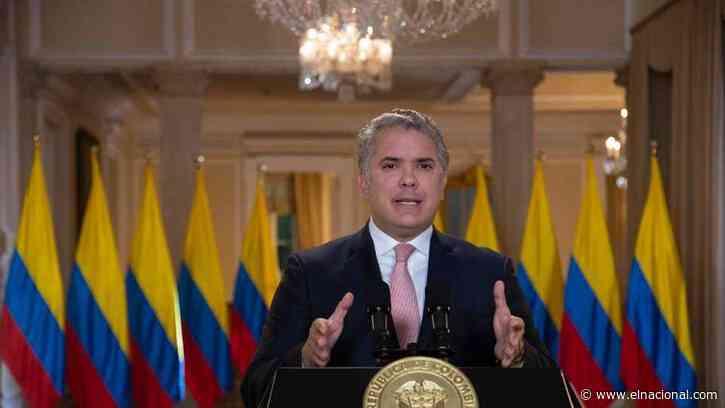 """Duque: """"Resistencia democrática"""" y """"narcodictadura"""""""