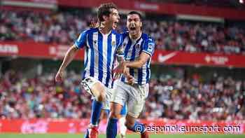 LaLiga 2021/2022   Granada-Real Sociedad - Resumen y resultado del partido - Jornada 6 - - Eurosport