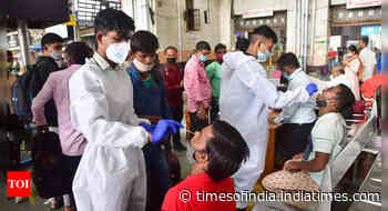 Coronavirus live updates: India's Covid recovery rate stands at 97.78% - Times of India