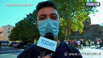 """VIDEO   Fridays for future, migliaia di giovani in piazza a Roma: """"Giustizia climatica ora!"""""""