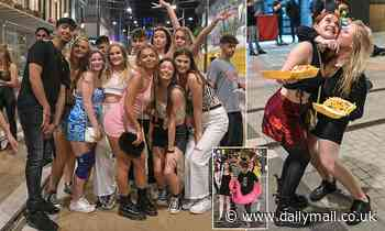 First-year students queue up for Birmingham's nightclubs as Freshers' week nears its end