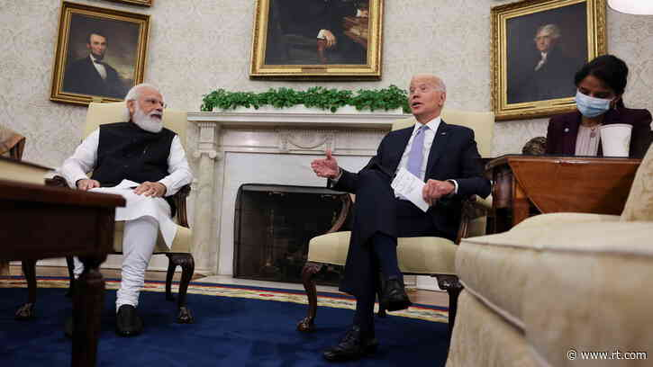'They won't ask questions on point': Biden tells PM Modi not to answer to US press that 'behaves' worse than Indian media
