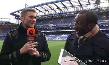 'That's dedication!': Jimmy Floyd Hasselbaink stunned by Rob Green's mangled pinky finger