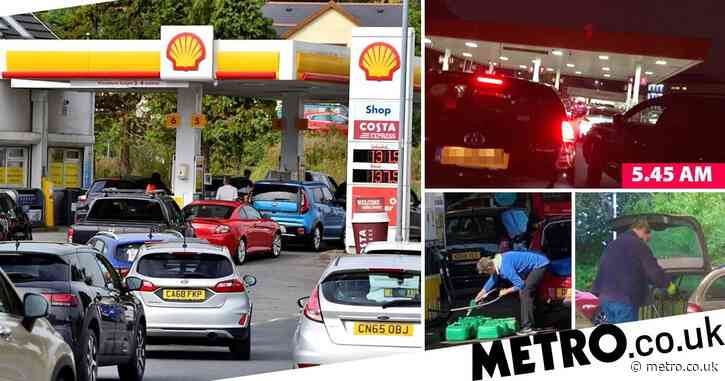 Petrol panic buying continues as foreign drivers drafted in to solve crisis