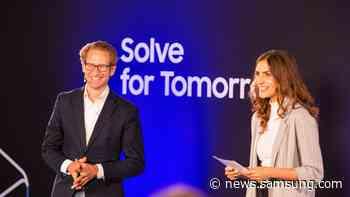 Gewinner von Solve for Tomorrow 2021 stehen fest: EP-Checkup, Ingrid und Greenlist gehen mit Samsung nächste Schritte - Samsung Newsroom Deutschland