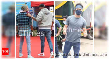 Ranbir, Vicky shoot for 'Mr Lele' dance sequence