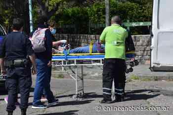 Ciclista herida tras un choque en Pueblo Nuevo - En Línea Noticias