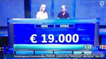 TV-Panne vor Bundestagswahl: ARD blendet live Hochrechnungen ein - zwei Tage vor der Wahl