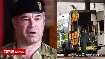 Commander outlines Army's ambulance support role