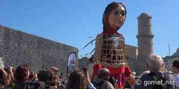 La Petite Amal à Marseille, un grand pas pour sensibiliser au sort des enfants migrants - Gomet'