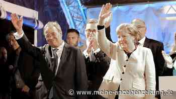 Merkel greift überraschend deutlich in den Wahlkampf ein: Letzter Auftritt mit Laschet