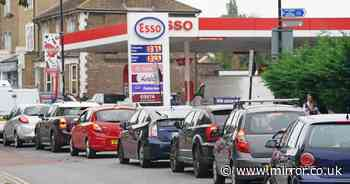 Petrol stations run dry as drivers ignore pleas not to panic buy in huge queues