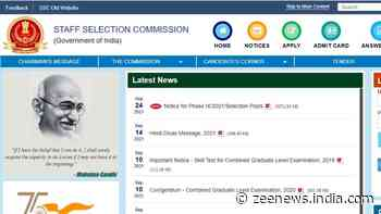 SSC Selection Posts Phase 9, 2021: Check how to apply, eligibility, visit ssc.nic.in