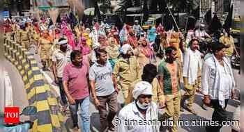 Regularise jobs, demand MCG workers - Times of India