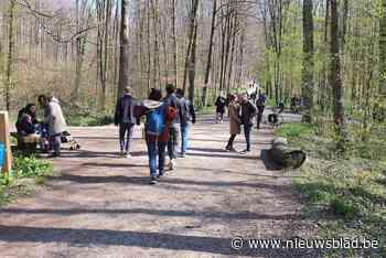 Ondanks erkenning als natuurreservaat: wandelaars en fietser... (Halle) - Het Nieuwsblad