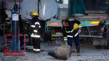 San Salvador: Murió el mecánico que sufrió graves heridas tras explosión en su taller - EntreriosYa