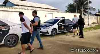 Três apontados por envolvimento com milícia são presos em Arraial do Cabo, RJ; dois são suspeitos de duplo homicídio em Nova Iguaçu - G1