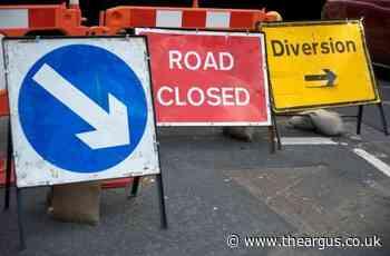 Long delays as A27 Shoreham shut all weekend