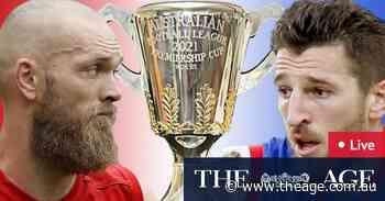 AFL grand final 2021 LIVE updates: Rampaging Demons reassert themselves over shellshocked Bulldogs