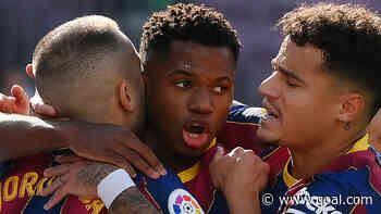 Ansu Fati returns to Barcelona squad after 10-month absence
