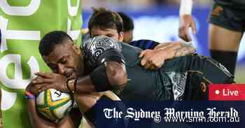 Rugby Championship 2021 LIVE: Wallabies kick clear against Pumas
