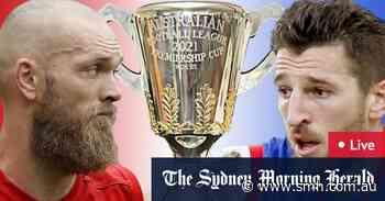 AFL grand final 2021 LIVE updates: Rampaging Demons charging towards drought-breaking premiership, Bulldogs muzzled