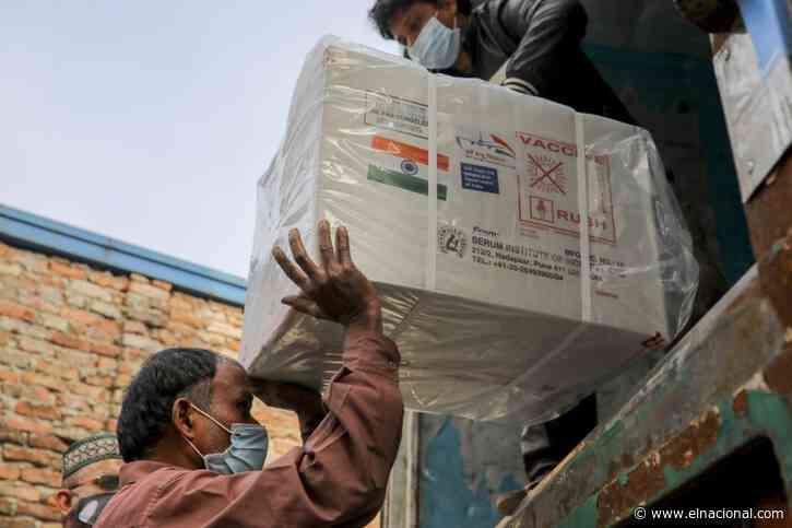 India exportará ocho millones de vacunas anticovid en octubre