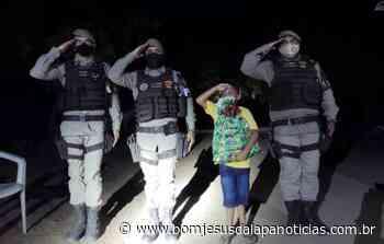 Policia Militar da 30ª CIPM de Santa Maria da Vitória realiza sonho de criança de 8 anos em festa de aniversário - Notícias da Lapa