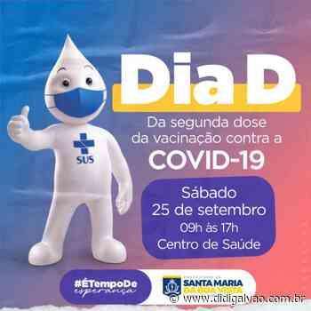 """Santa Maria da Boa Vista realizará dia """"D"""" da segunda dose da vacina contra a COVID-19 - Blog do Didi Galvão"""