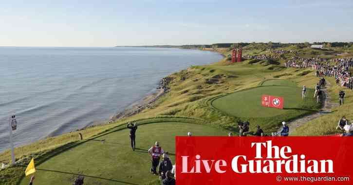 Ryder Cup: USA v Europe, day two foursomes – live!