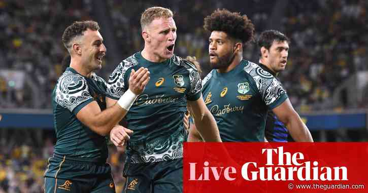 Wallabies continue unbeaten run against Pumas: Rugby Championship 2021 – as it happened