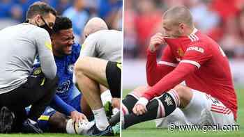 Luke Shaw & Reece James injured in first half as Man Utd & Chelsea both suffer injury blows
