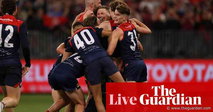 AFL 2021 grand final: Demons charge to drought-breaking premiership win over Western Bulldogs – live!