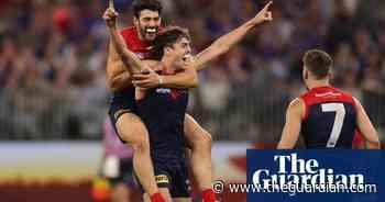 Relentless Melbourne Demons overrun Western Bulldogs in AFL grand final