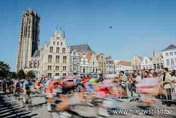 Doortocht van WK wielrennen voor vrouwen lokt heel wat toeschouwers naar Mechelen