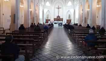 Invocando a Nuestra Señora del Rosario de San Nicolás oraron los 'Madrugadores del 9' - Cadena Nueve