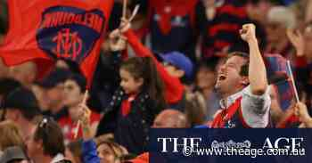 'I cannot believe it': jubilant Demon fans celebrate the end of 57-year premiership drought