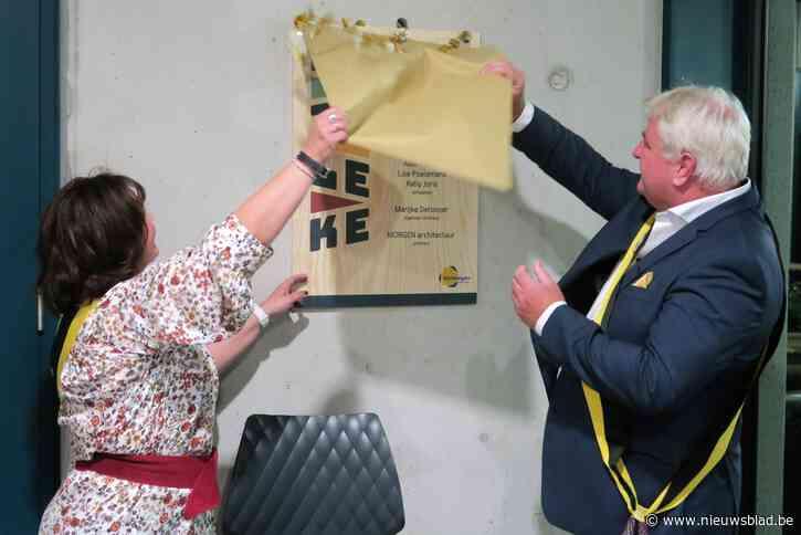 """Vrijetijdscentrum Brieleke officieel open: """"Trots dat veertig jaar oude droom gerealiseerd is"""""""