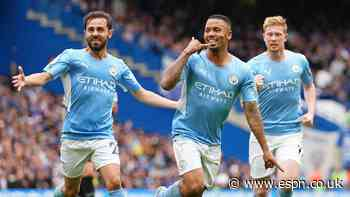 Gabriel Jesus strikes for City to beat Chelsea