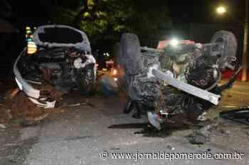 Homem morre após capotamento na Rua Sete de Setembro, em Blumenau - Jornal de Pomerode